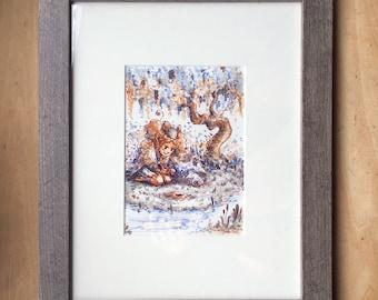 Little Dryad - Original Painting
