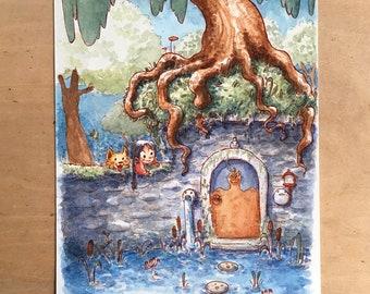 Secret Door - Original Painting
