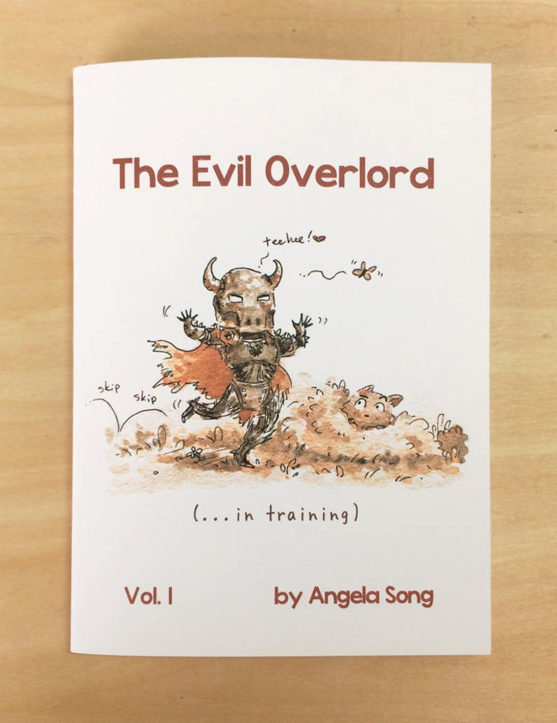 The Evil Overlord in training Vol. 1 image 0