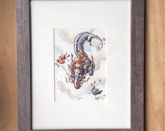 Dragon Flight - Original Painting