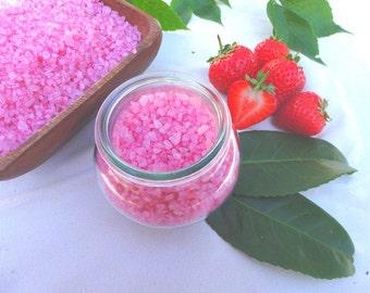 Bath salt Strawberry Cream