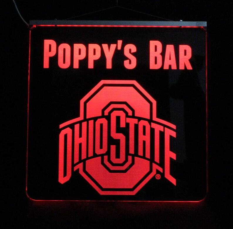 Ohio State Gifts Ohio State University Buckeyes Color Etsy
