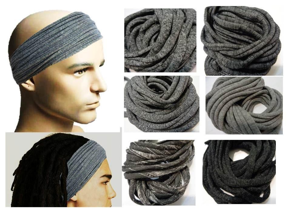 524ec03f80f1 Mens Headband Dreadband Mens Hair Accessory Dreadlock Wrap
