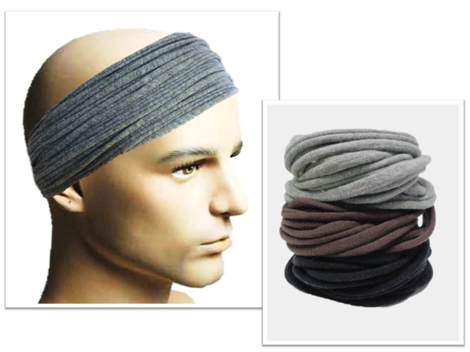 Men Headband Mens Hair Accessory Men Headwear Dreadlock Wrap  a8e7ea458e4