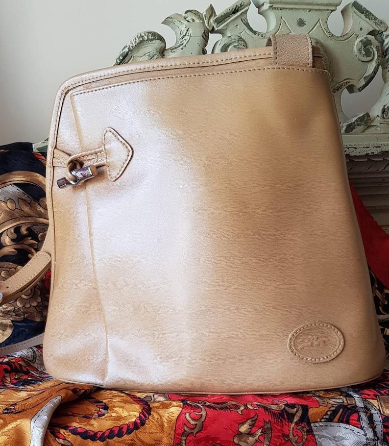 86fbd05db278 Gorgeous Vintage French LONGCHAMP of Paris Caramel Leather
