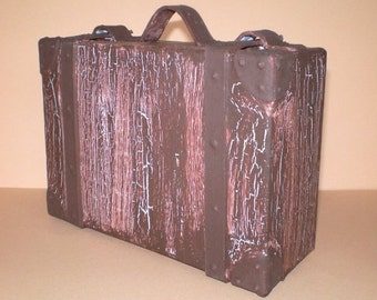 Gift box-small money suitcase, holiday suitcase, travel voucher