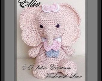 """PDF Pattern Crochet """"Ellie"""""""