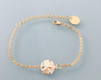 24 k gold Plated seashell bracelet, golden bracelet, gift idea, shell bracelet, gift jewellery, gold woman jewellery