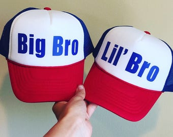Sibling Trucker Hats (Set of 2)