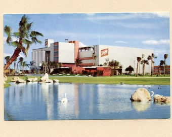 1959 Tampa Florida Vintage Advertising Postcard Joseph Schlitz Brewing Company Unused Family Owned and Operated Factory - 8648b