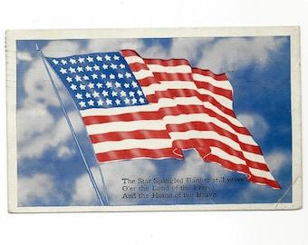 79b2147e1 Vintage Patriotic Postcard