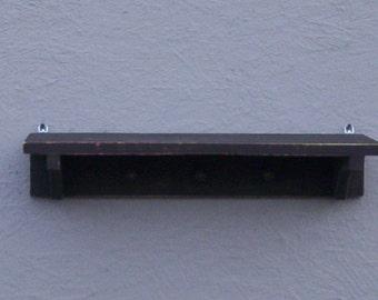 Wall Shelf with Pegs