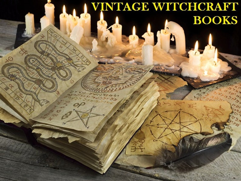 Witchcraft Wicca Pagan Spells Witches Magic Occult image 0