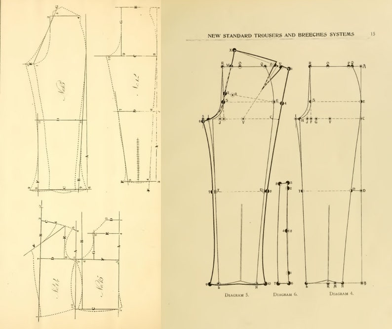 Mens Tailoring Books - Suit Fitting Repair Fashion Clothes Design - 166  Rare Old Books Digital PDF Download