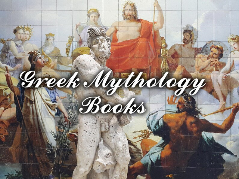 Greek Mythology Book Collection - 172 PDF eBooks - Legends, Greek Gods,  Ancient Greece, Zeus, Prometheus, Apollo, Titan, Jason, Poseidon