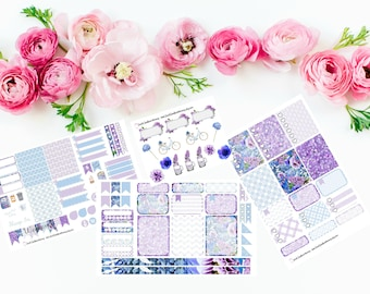 WEEKLY May Flowers Sticker Kit