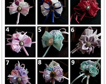 Custom made Boutonnière Corsage Brooch Wedding Flowers Wedding Accessories