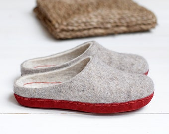 Felt slippers felt scarpe wool stivali Christmas gifts di di di VASlippers ec67bb