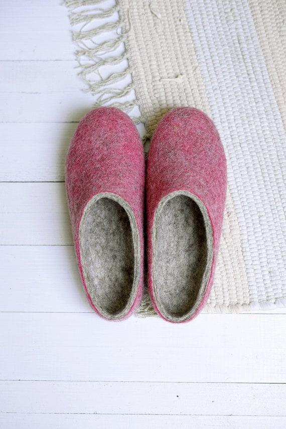 en Rose pr laine pantoufles de r8xEqwIr