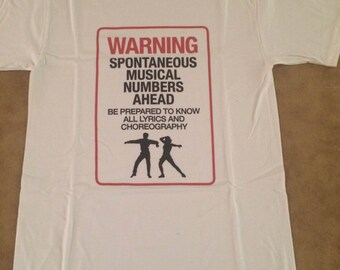 Fun Musical Theatre T-Shirt in WHITE