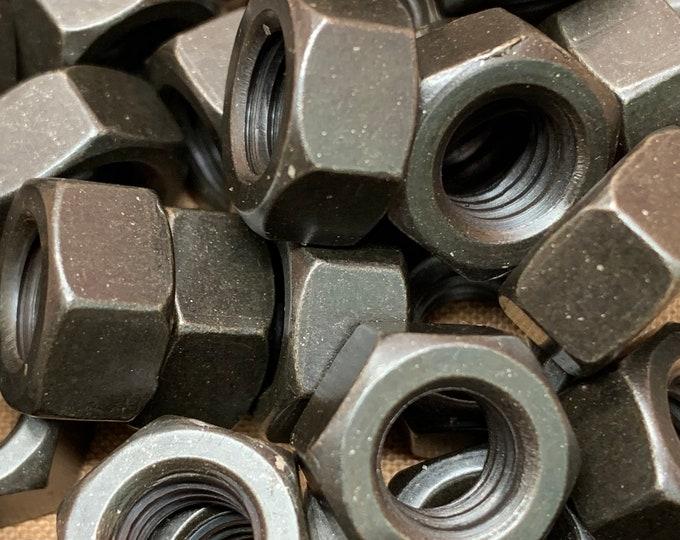 Black Oxide Steel Finished Hex Nut 5/16-18