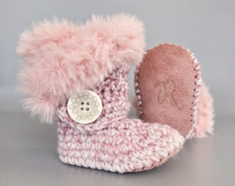 fb7174bb61076 Handmade baby shoes. 1/pair goes to EndAlz by Raspberriez on Etsy