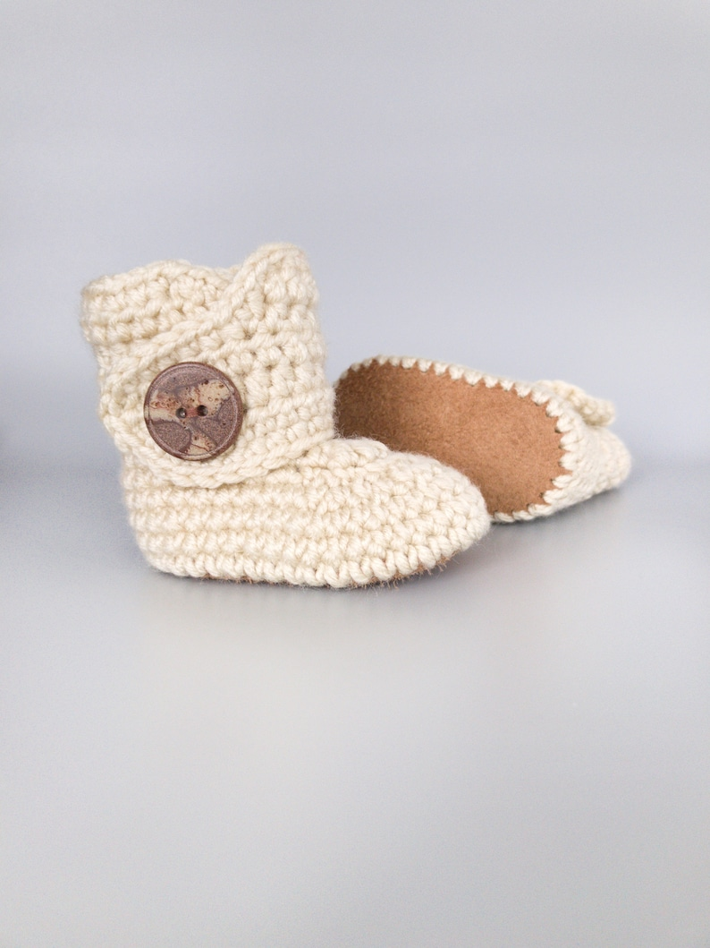 Infant Baby Shoes Cream Infant Boy Clothes Gender Neutral image 0