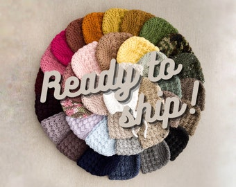 READY TO SHIP - Baby Bonnets