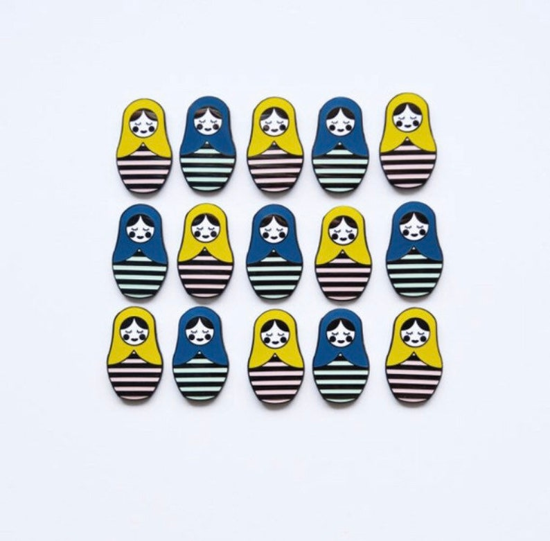 SECONDS SALE Enamel Pins B Grade Discounted Pins image 1