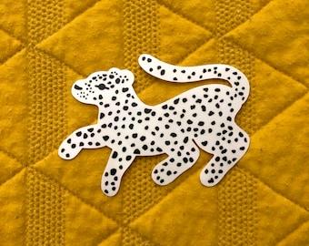 Leopard Rainbow-Making Suncatcher, Vinyl Window Decal, Big Cat, Animal Nursery, Home, Gift