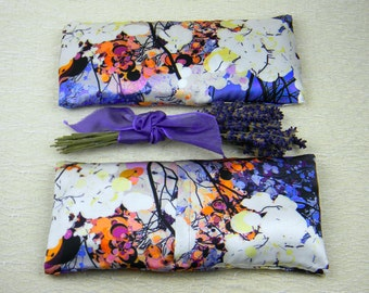 "Lavender ""Fantome"" Silk Eye Pillow"
