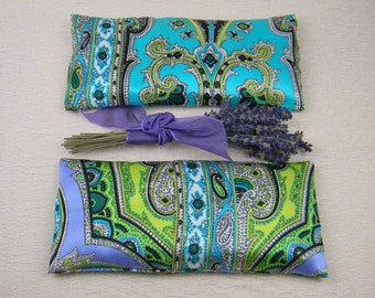 "Lavender ""Danelle"" Silk Eye Pillow"