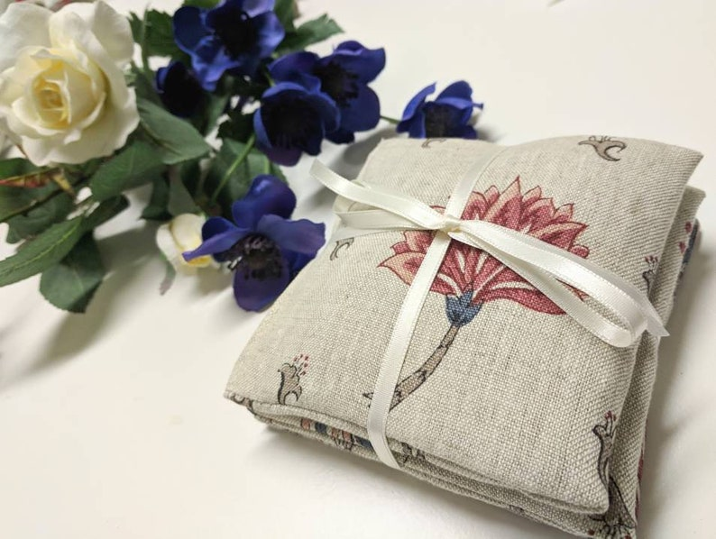 Lavender Bags Natural English Cream Linen House Warming Gift Sleep Aid Wedding Gift Drawer Liners