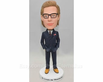 Custom Bobbleheads Of BOSS Gifts For Boss Birthday Gift Personalized