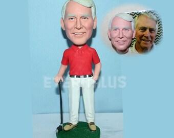 custom golf bobbleheads