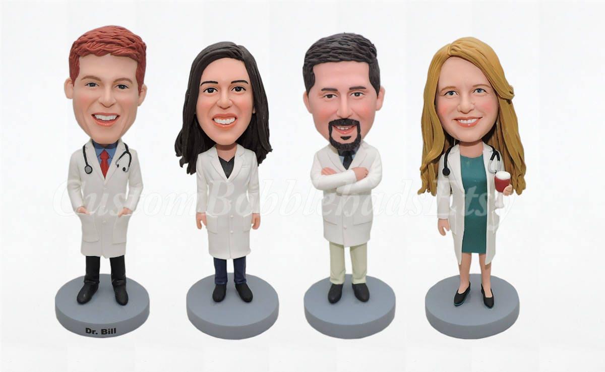 Arzt Wackeldackel Geburtstagsgeschenk für Arzt | Etsy