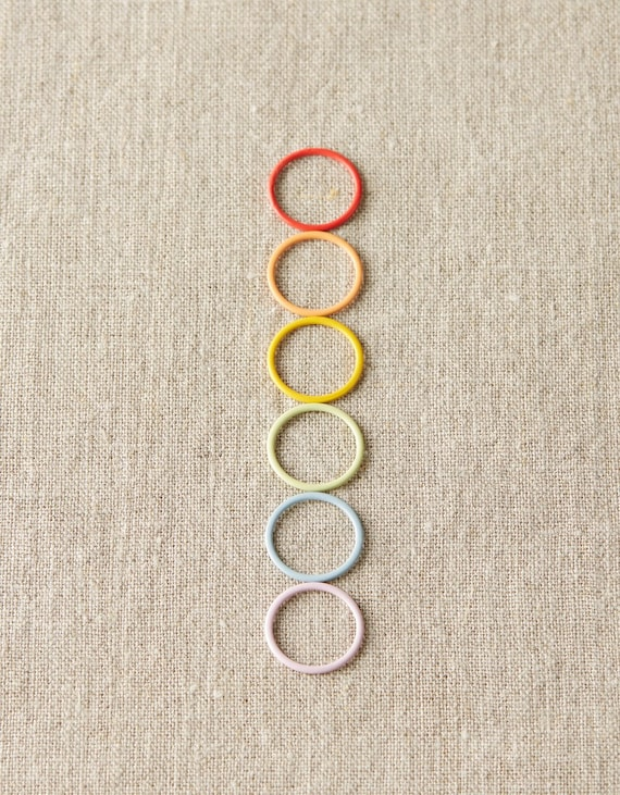 Cocoknits, Cocoknits Jumbo Ring Stitch Markers, Cocoknits Stitch Markers, Ring Stitch Markers