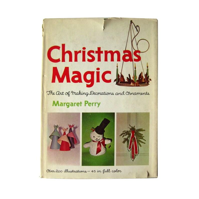 Christmas Magic Vintage Holiday Decorating Ideas Holiday Etsy
