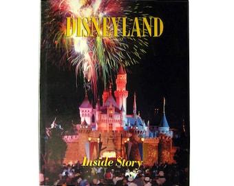 Disneyland The Inside Story by Randy Bright - Walt Disney - Coffee Table Book
