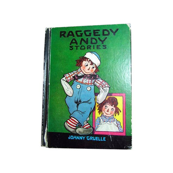Raggedy Andy Stories Vintage Childrens Book Gruelle Etsy