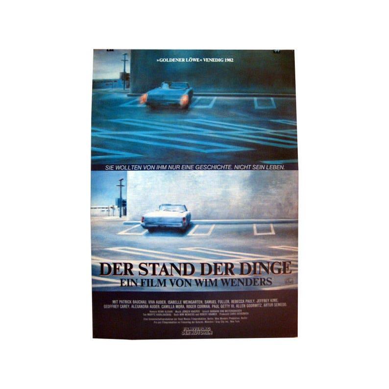 Der Stand Der Dinge Original Movie Poster A1 Size Wim Etsy