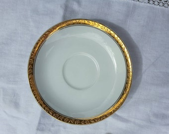Ashleigh Pattern Saucer Designed by Noritake China