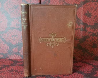 Among The Hills and Other Poems by John Greenleaf Whittier - Victorian Book of Poetry from 1869