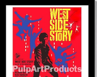 """West Side Story FRIDGE MAGNET movie poster /""""style S/"""""""