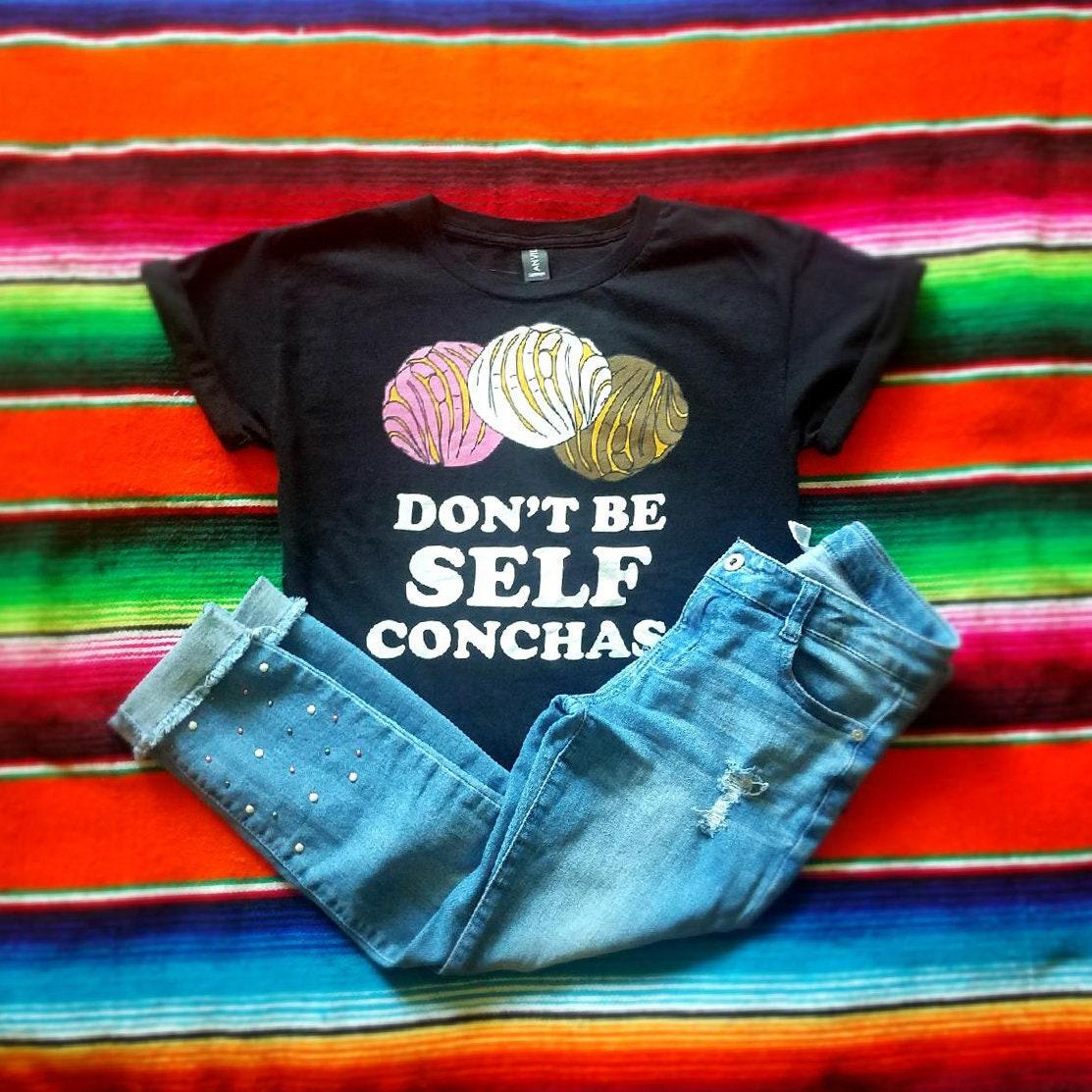 Ne soyez pas Conchas auto drôle T-shirt Unisex T-shirt drôle auto Latino a82b95