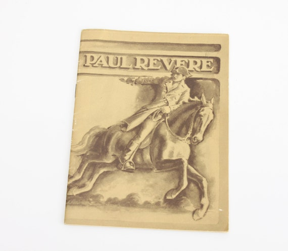 Paul Revere - John Hancock Mutual Life Insurance Co. - Issue 128 - 1930 - Ephemera - Booklet - American History - Biography