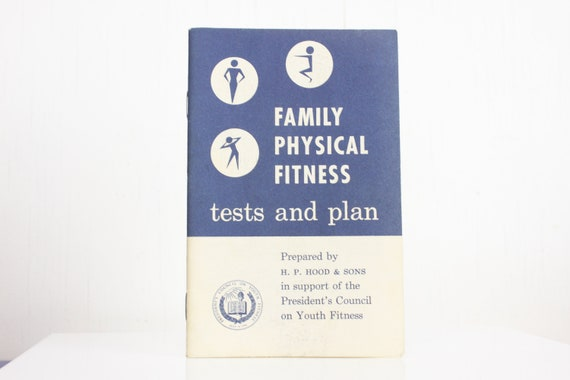 Family Physical Fitness - 1956 - H.P. Hood & Sons - Ephemera - Booklet - Pamphlet - Medical - Selfcare