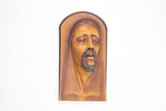 Vintage Wall Sconce - Jesus Freeze - Resin -Toscano Design - European Style Sculpture - Christian - Catholic - Passion