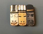 Wise Men, 3 Kings, or Everyday People Pin Pendant