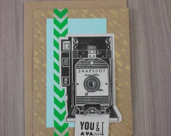 Shutterbug Love - For Your Significant Other -  Blank Occasional Card